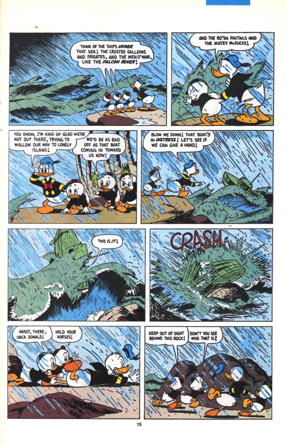 Read online Uncle Scrooge (1953) comic -  Issue #279 - 16