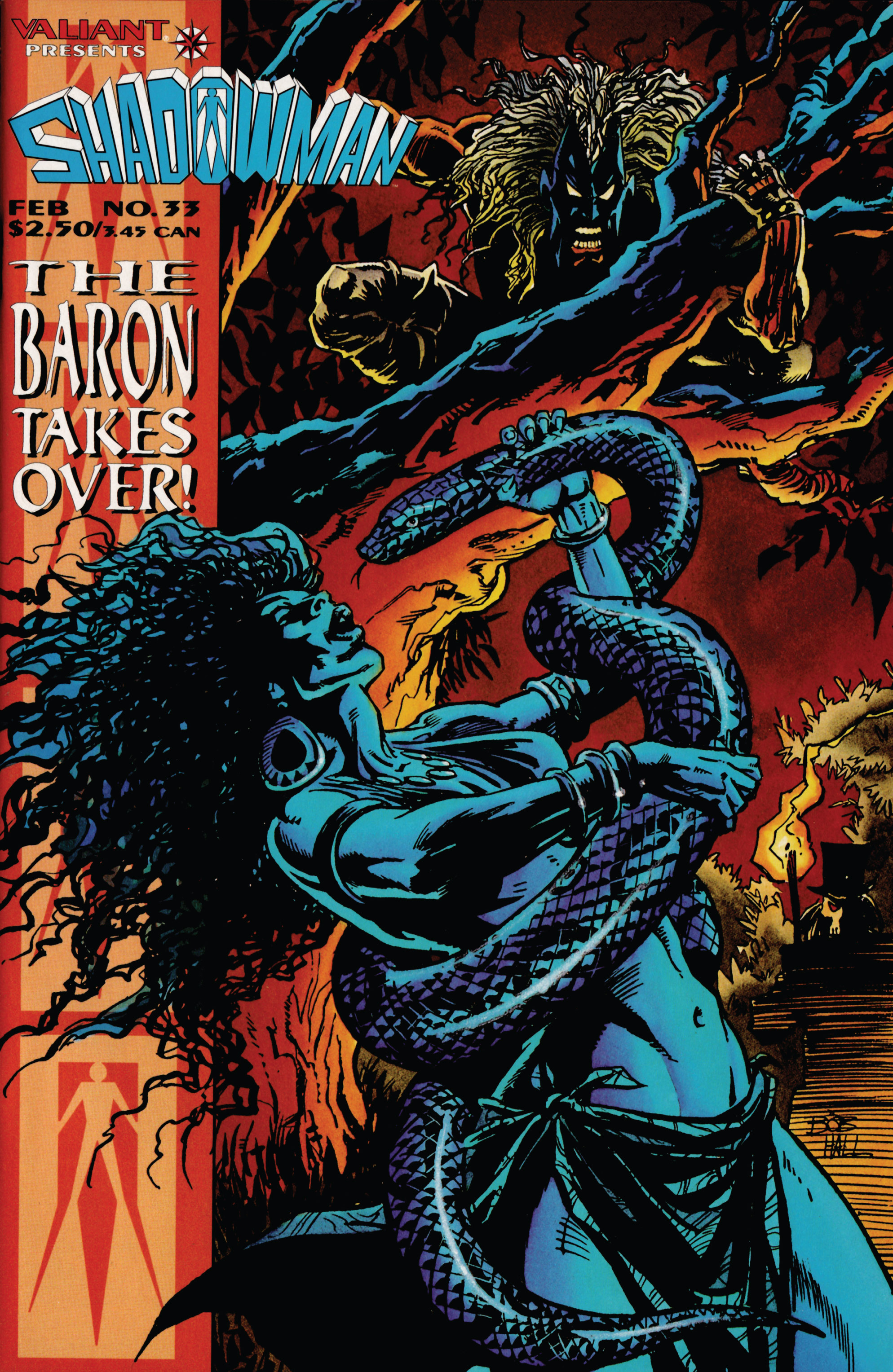Read online Shadowman (1992) comic -  Issue #33 - 1