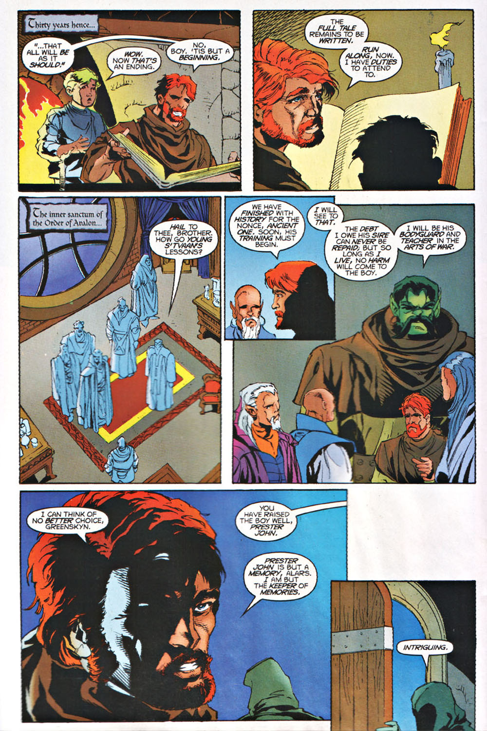 Read online Avataars: Covenant of the Shield comic -  Issue #3 - 21