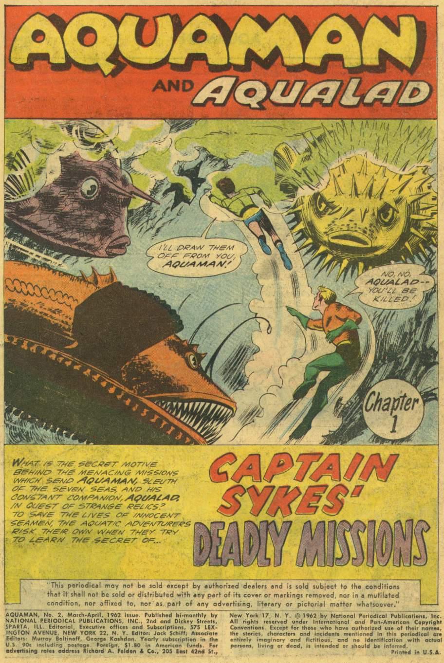 Read online Aquaman (1962) comic -  Issue #2 - 3