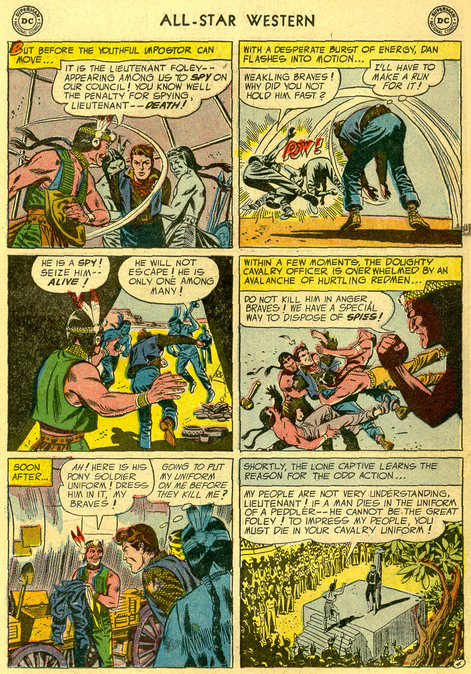Read online All-Star Western (1951) comic -  Issue #82 - 23