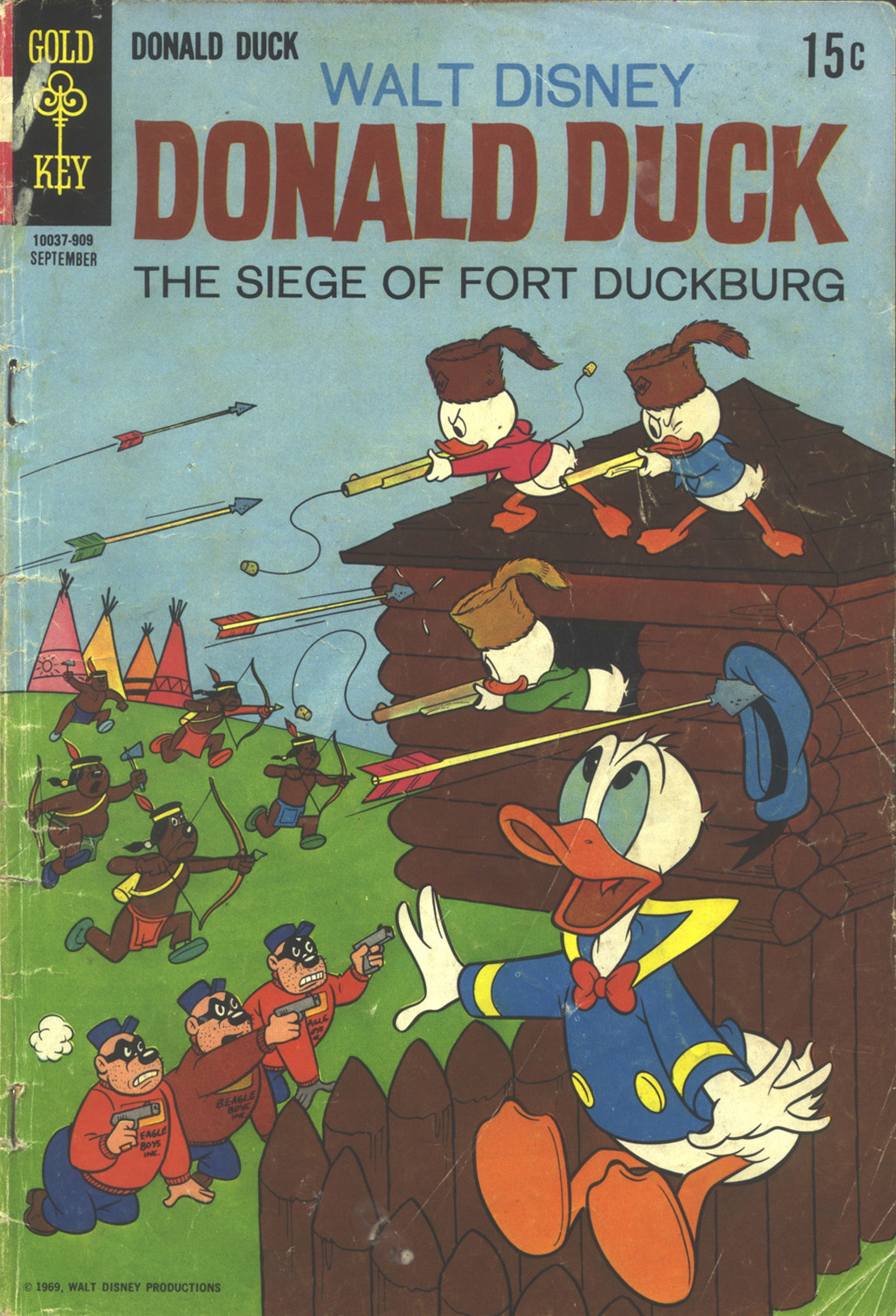 Donald Duck (1962) 127 Page 1