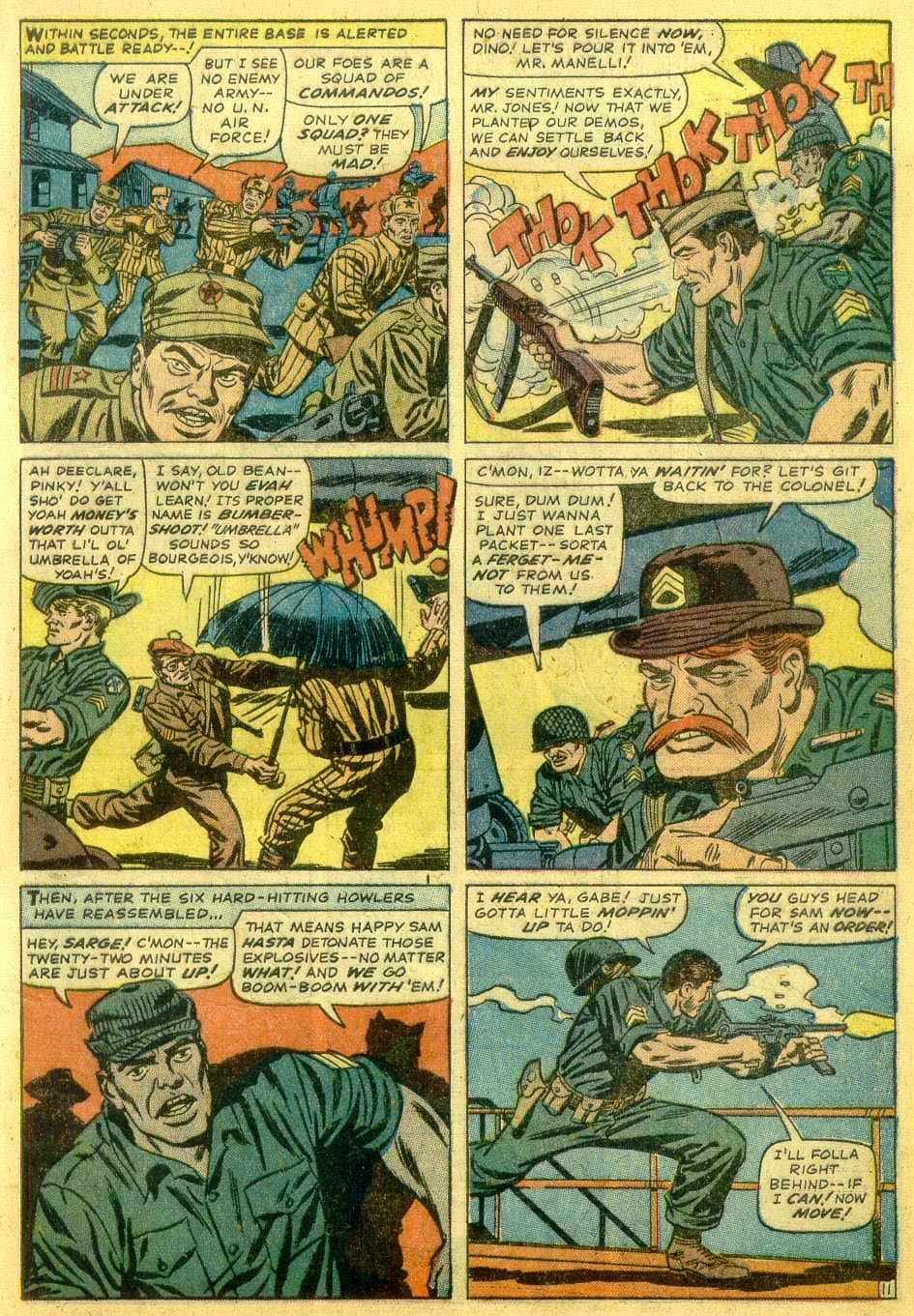 Read online Sgt. Fury comic -  Issue # _Annual 1 - 13