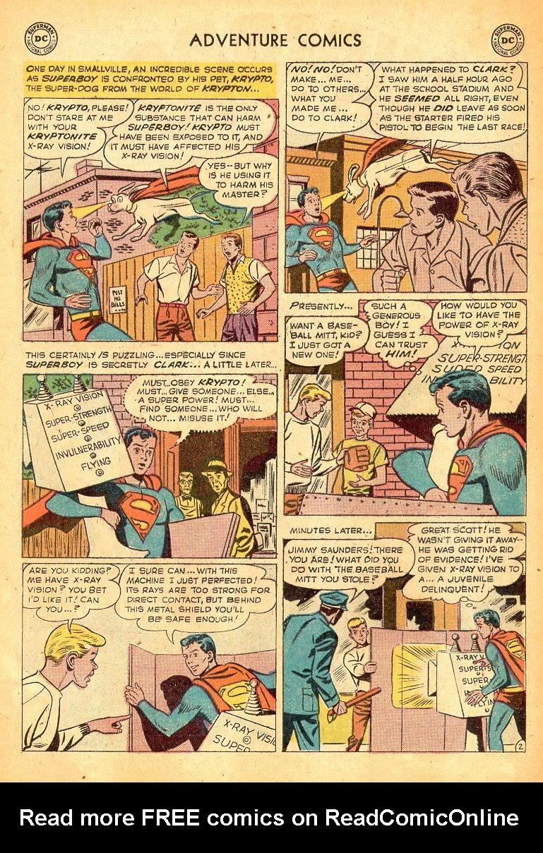 Read online Adventure Comics (1938) comic -  Issue #254 - 4