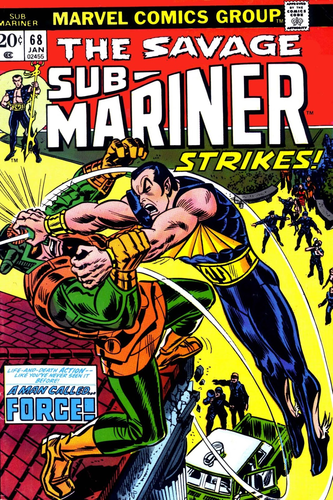 The Sub-Mariner 68 Page 1