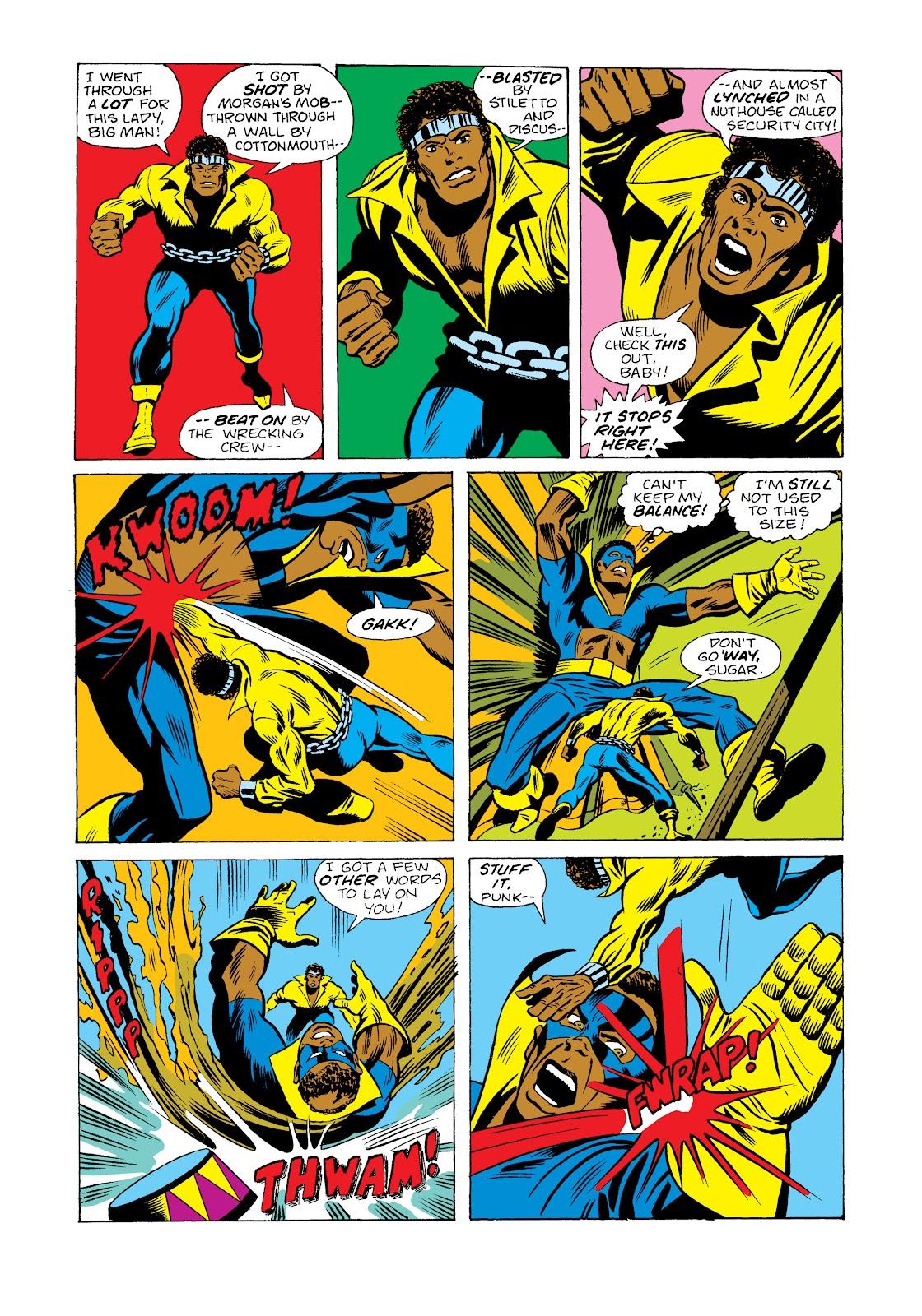 Read online Marvel Masterworks: Luke Cage, Power Man comic -  Issue # TPB 2 (Part 2) - 54