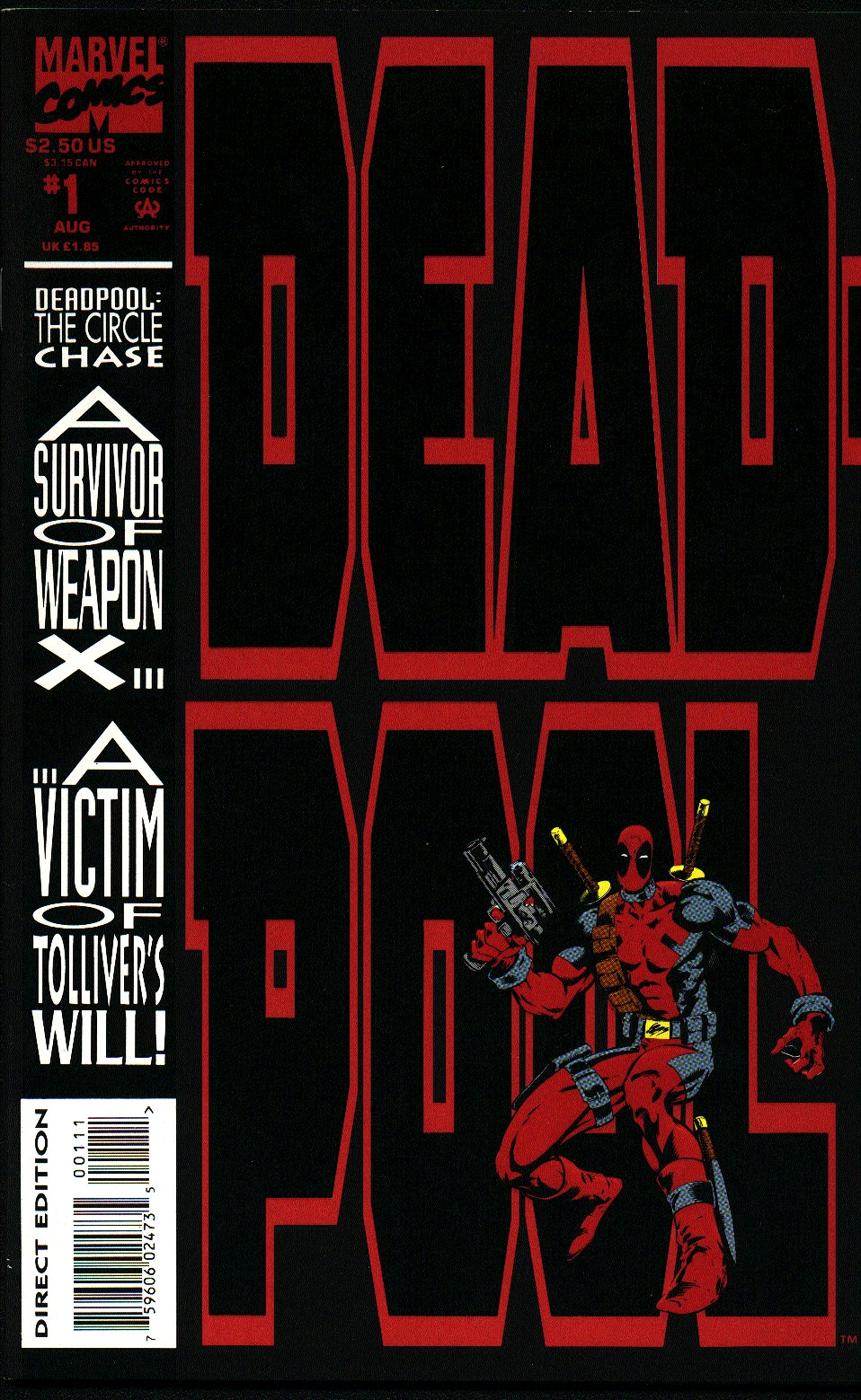 Deadpool: The Circle Chase 1 Page 1