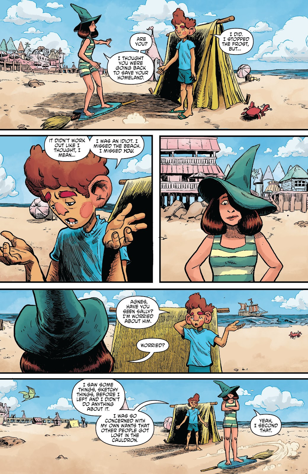 Read online Wizard Beach comic -  Issue #5 - 10