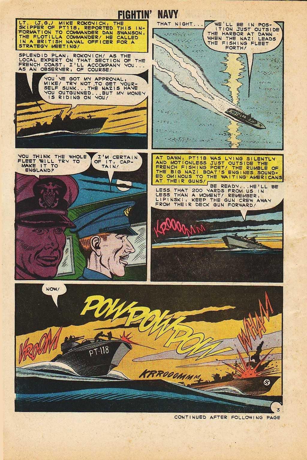Read online Fightin' Navy comic -  Issue #116 - 14