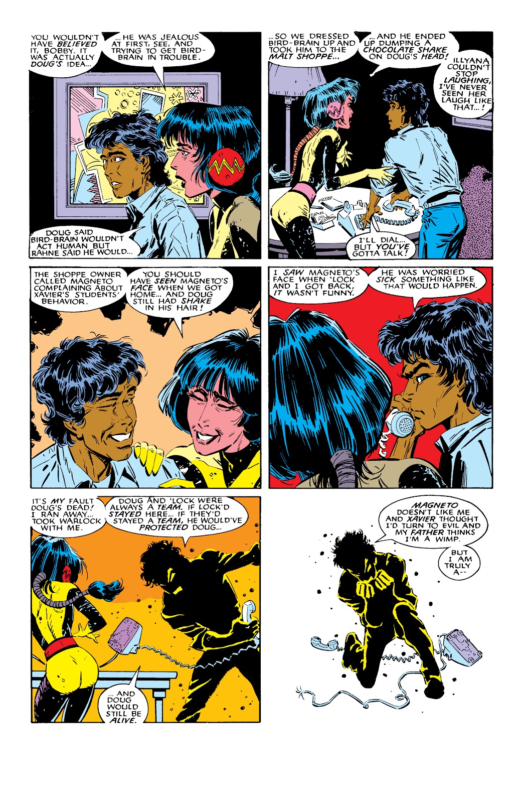 Read online X-Men Milestones: Fall of the Mutants comic -  Issue # TPB (Part 2) - 70