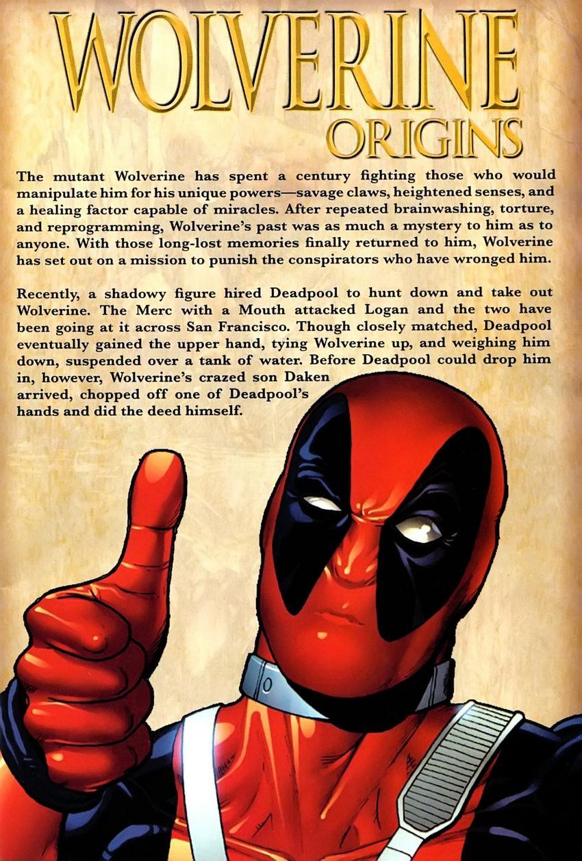 Read online Wolverine: Origins comic -  Issue #25 - 2