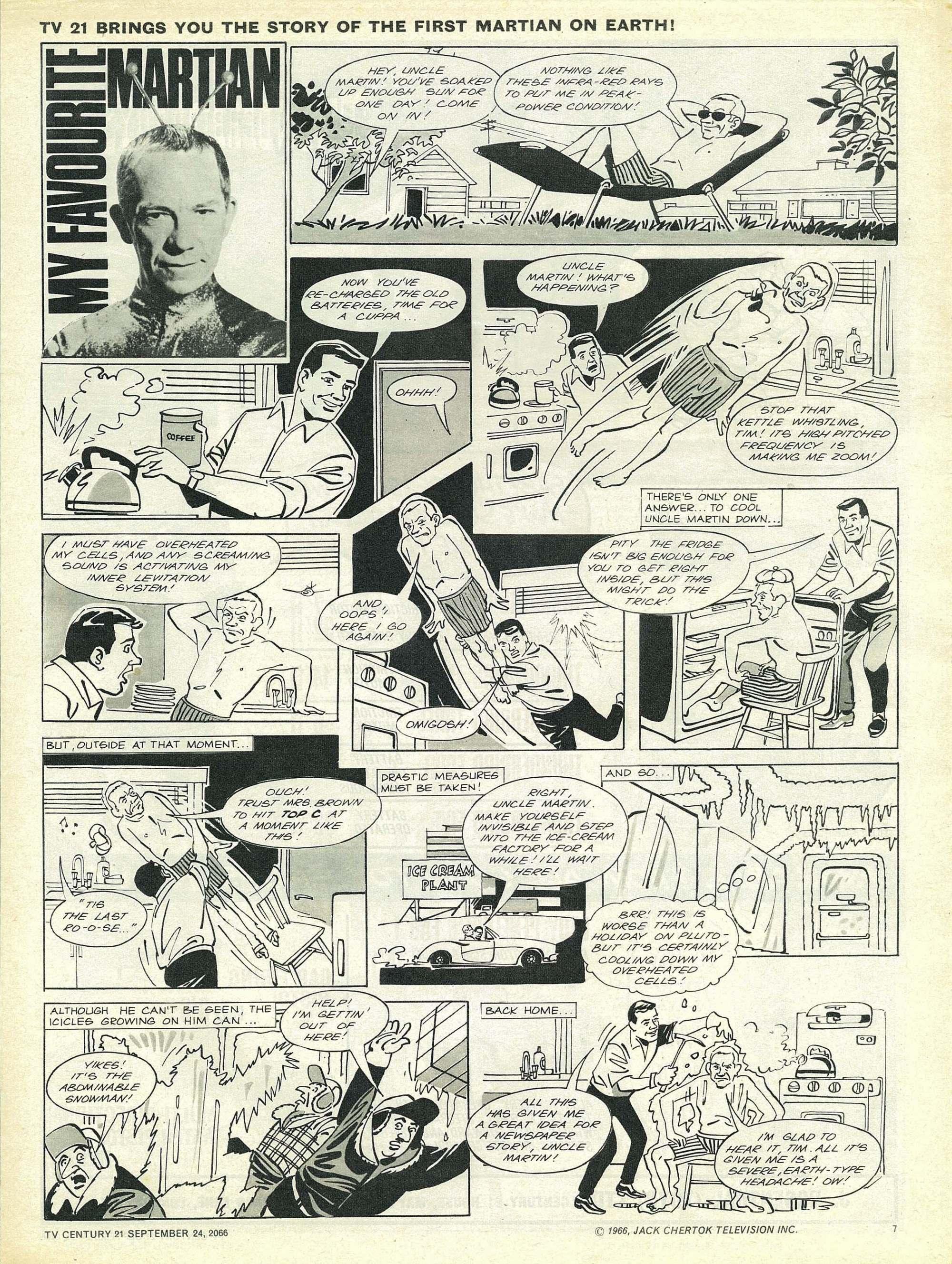 Read online TV Century 21 (TV 21) comic -  Issue #88 - 7