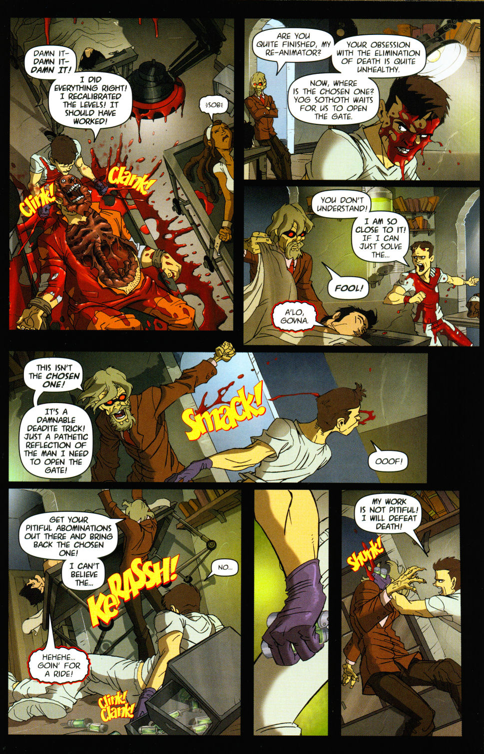 Read online Army of Darkness vs. Re-Animator comic -  Issue #3 - 15