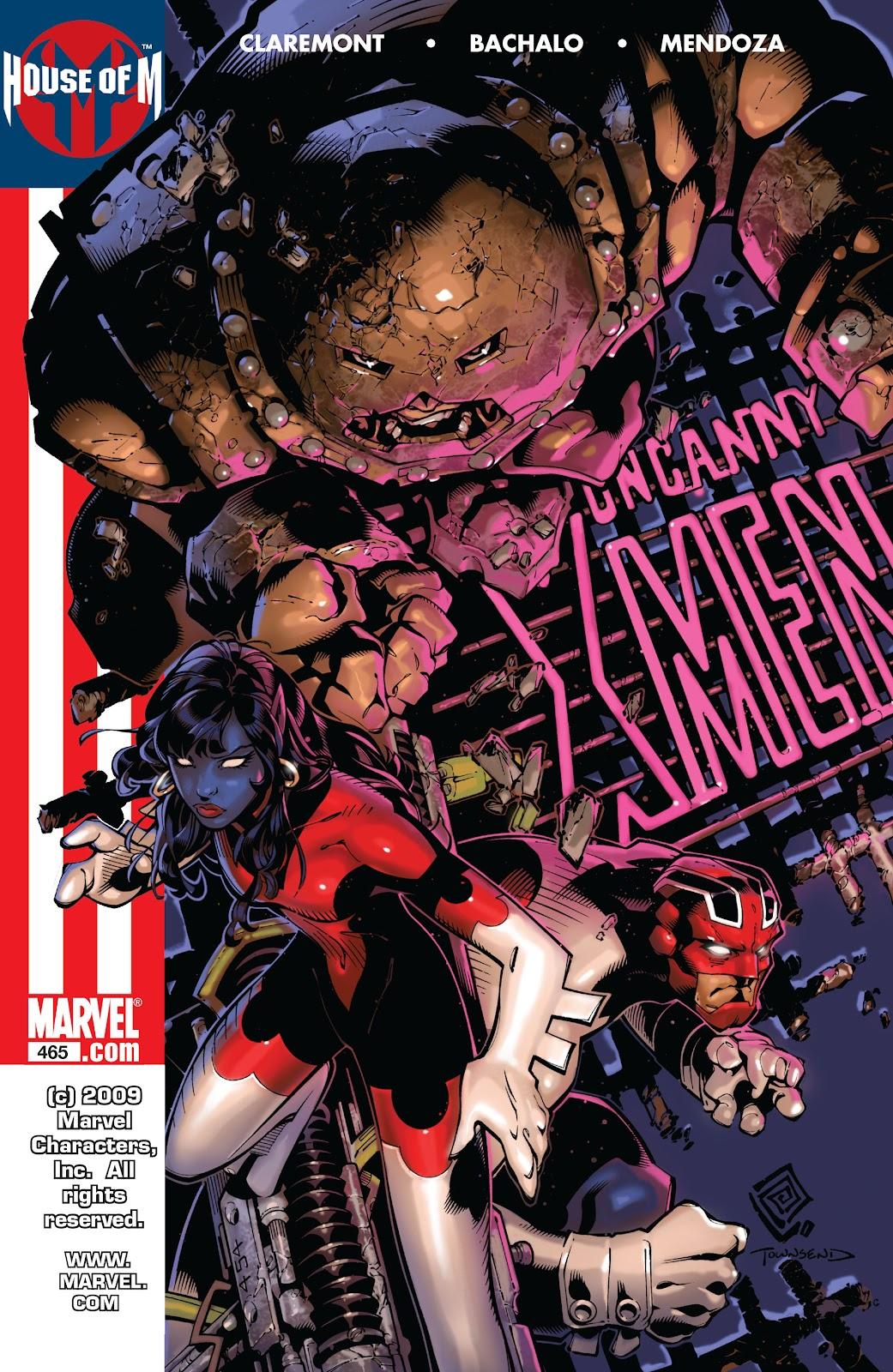 Uncanny X-Men (1963) issue 465 - Page 1
