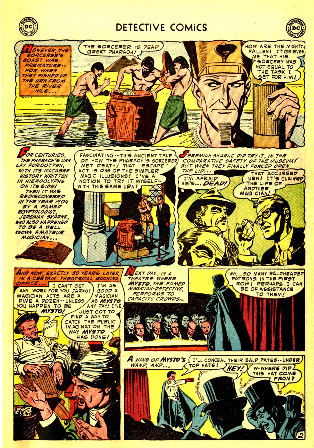 Read online Detective Comics (1937) comic -  Issue #211 - 35