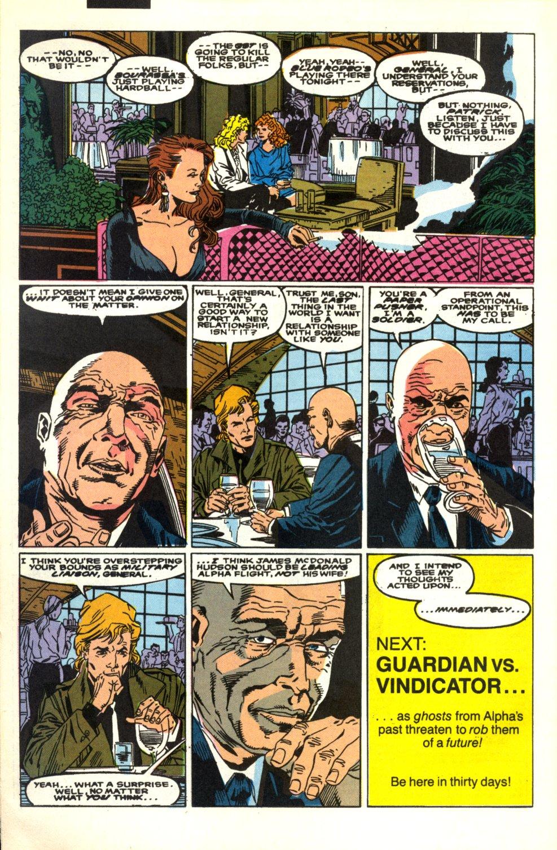 Read online Alpha Flight (1983) comic -  Issue #91 - 23