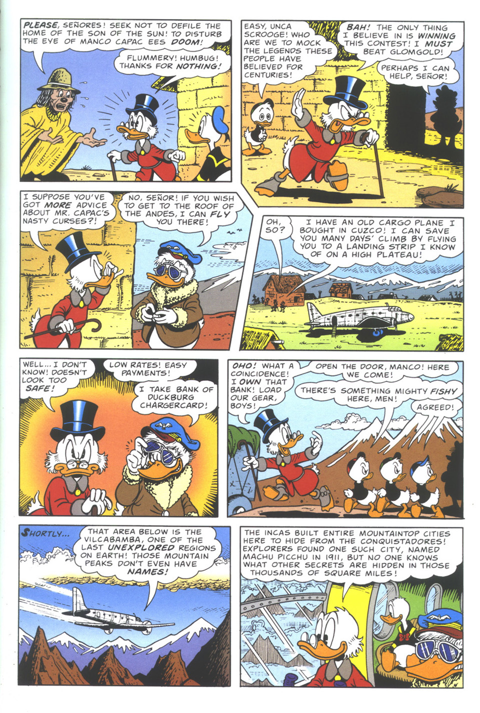 Read online Uncle Scrooge (1953) comic -  Issue #335 - 9