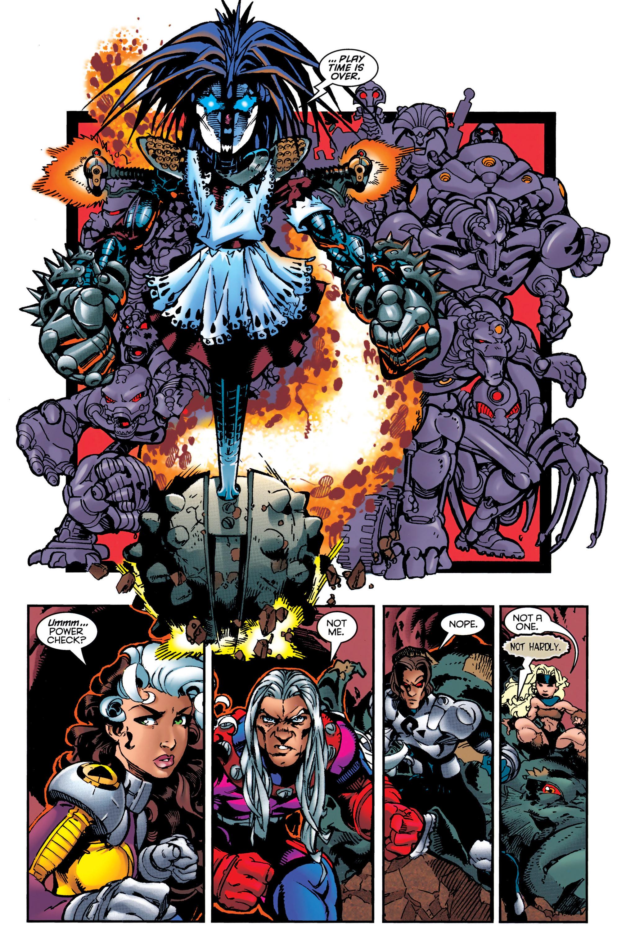Read online Uncanny X-Men (1963) comic -  Issue #349 - 20
