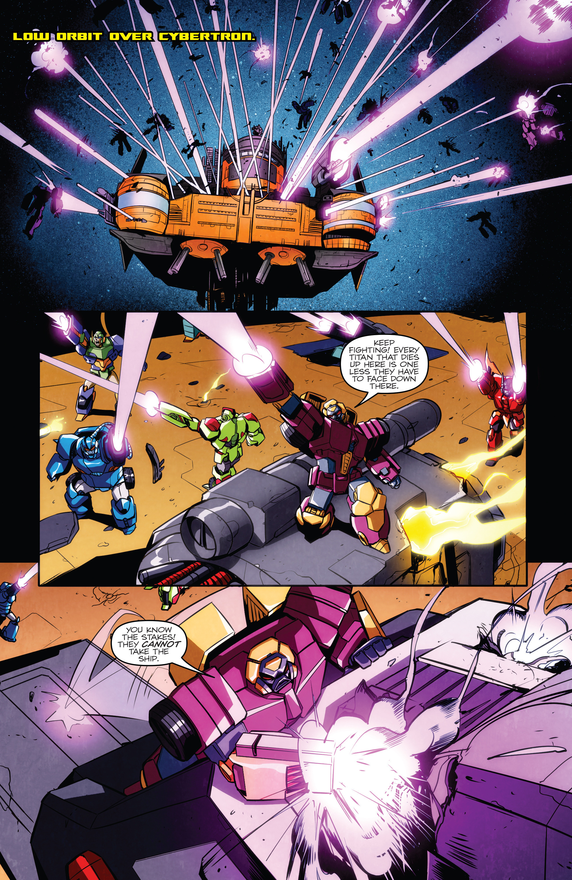 Read online Transformers: Till All Are One comic -  Issue #5 - 19