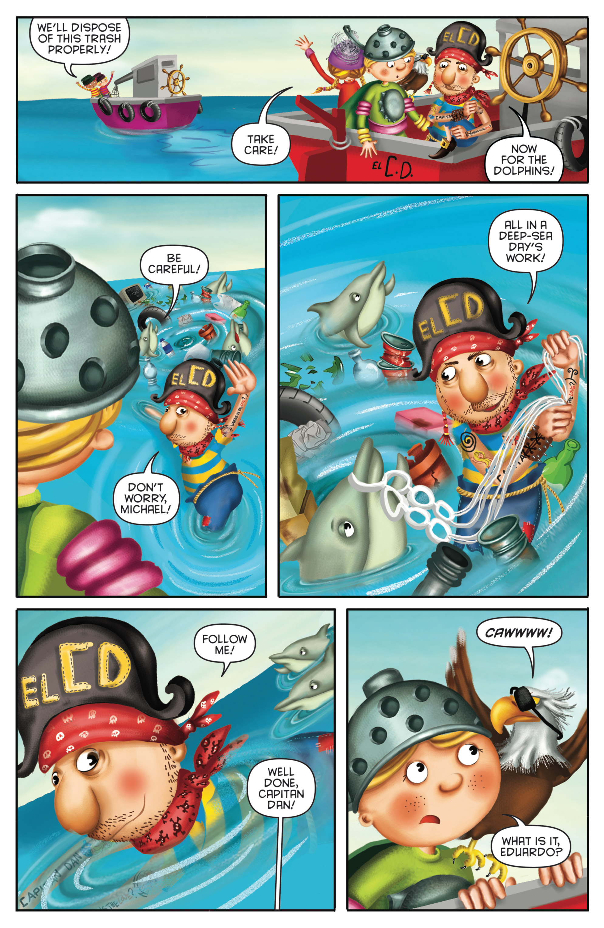 Read online Michael Recycle comic -  Issue #4 - 15