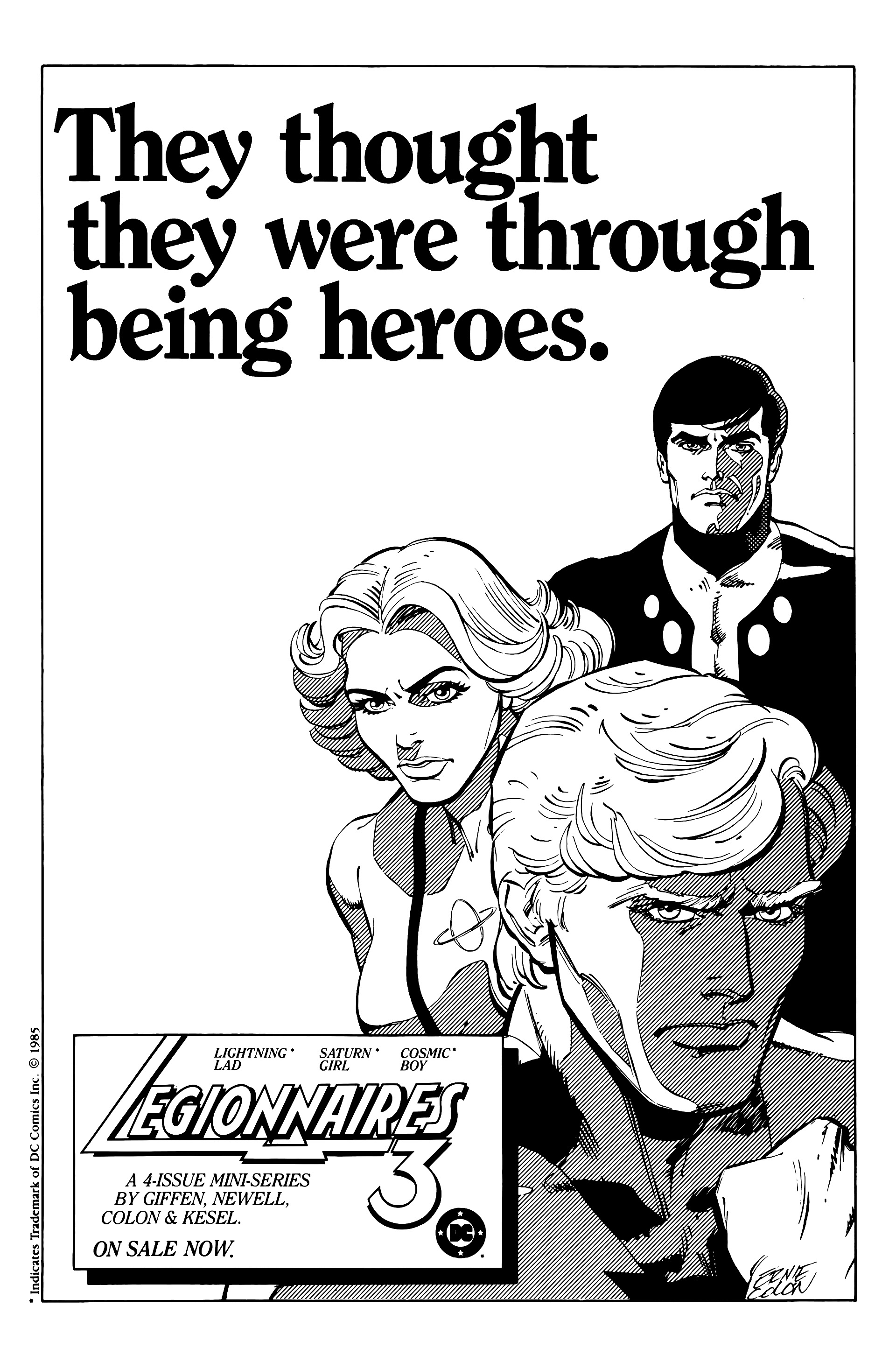 Legion of Super-Heroes (1984) 21 Page 32