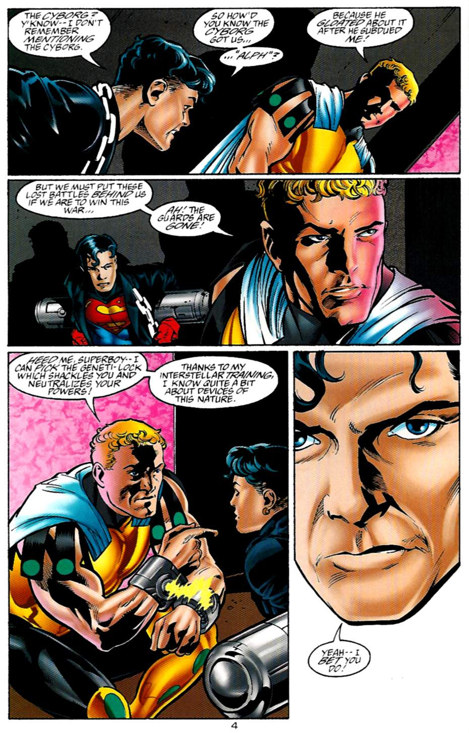Read online Adventures of Superman (1987) comic -  Issue #530 - 5