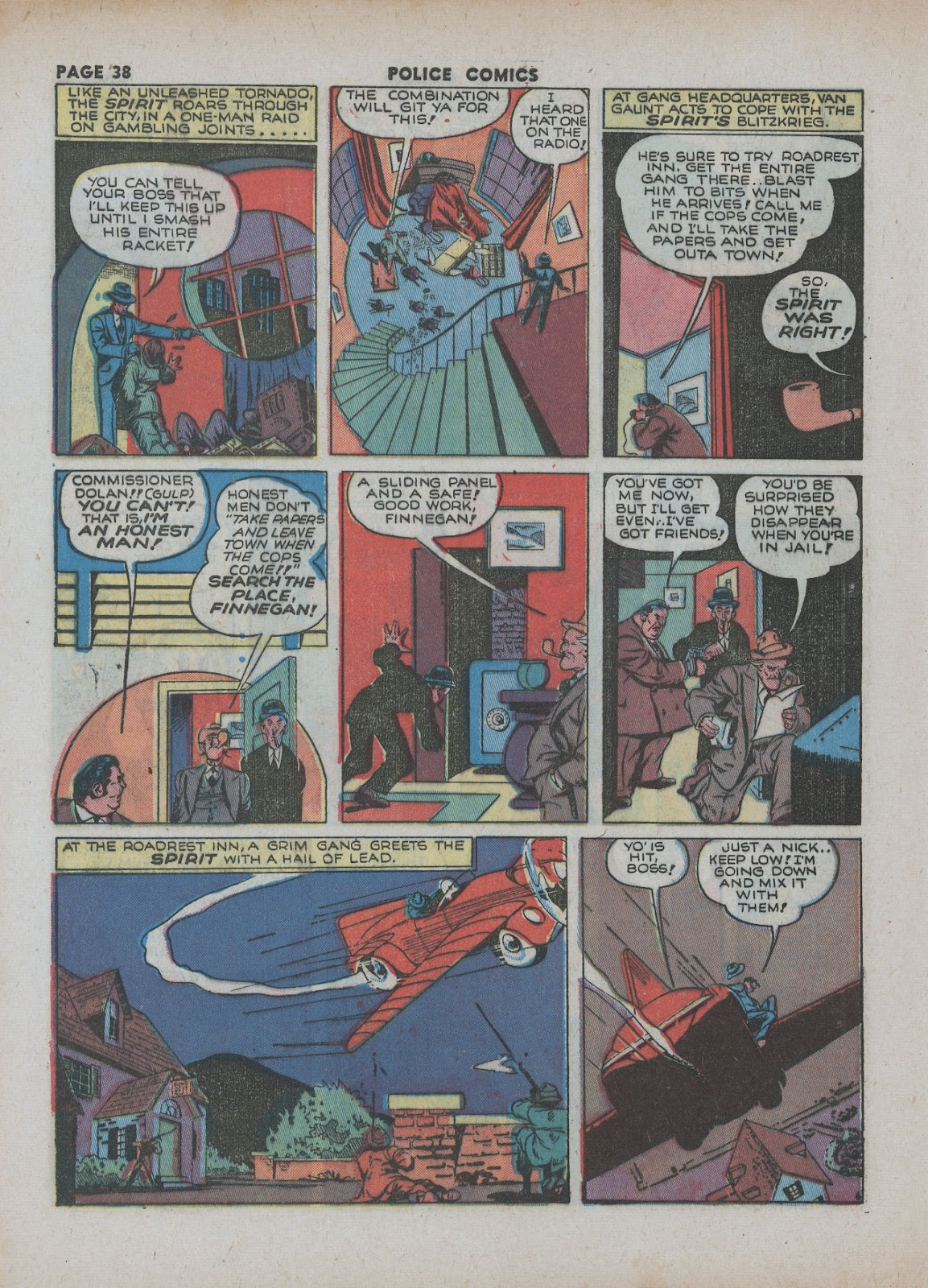 Police Comics issue 18 - Page 40