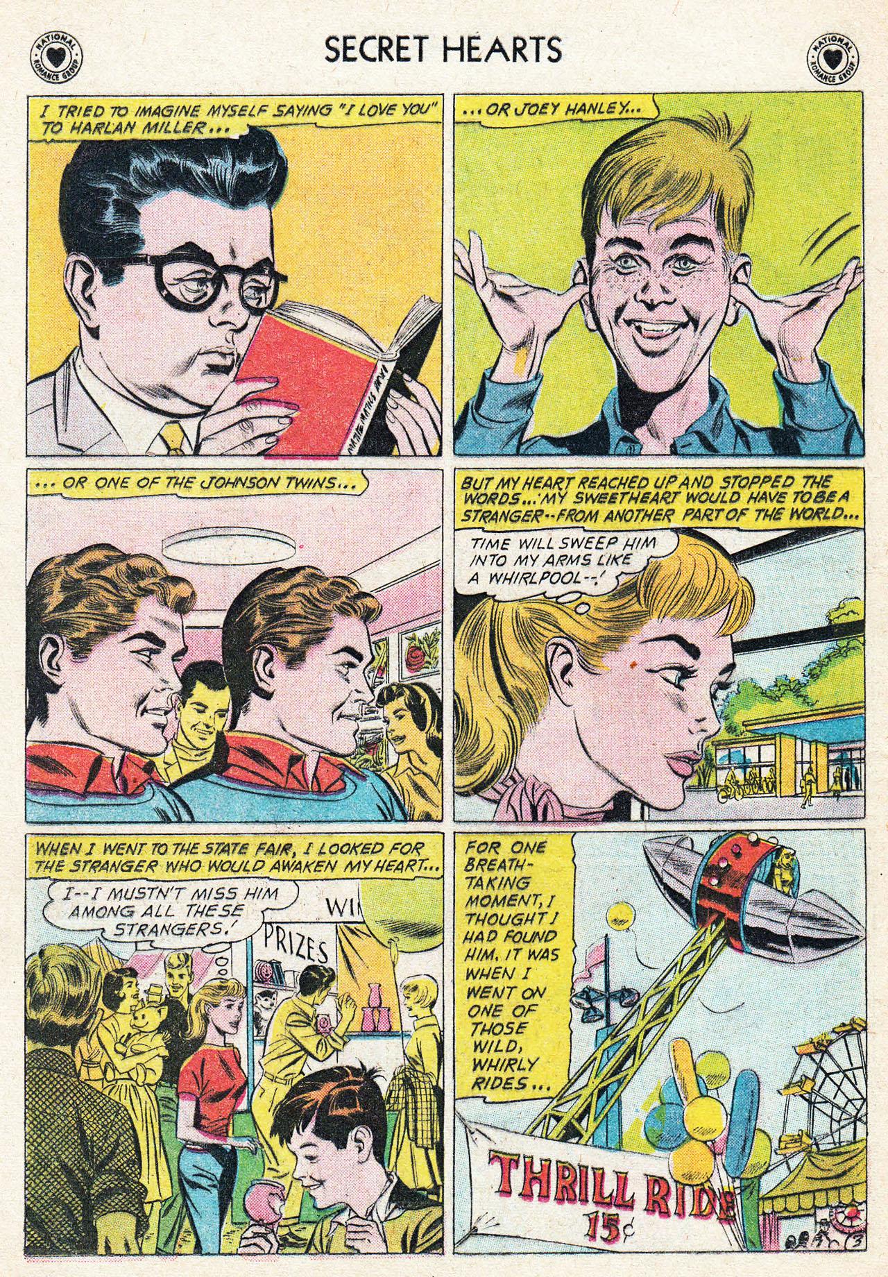 Read online Secret Hearts comic -  Issue #75 - 12
