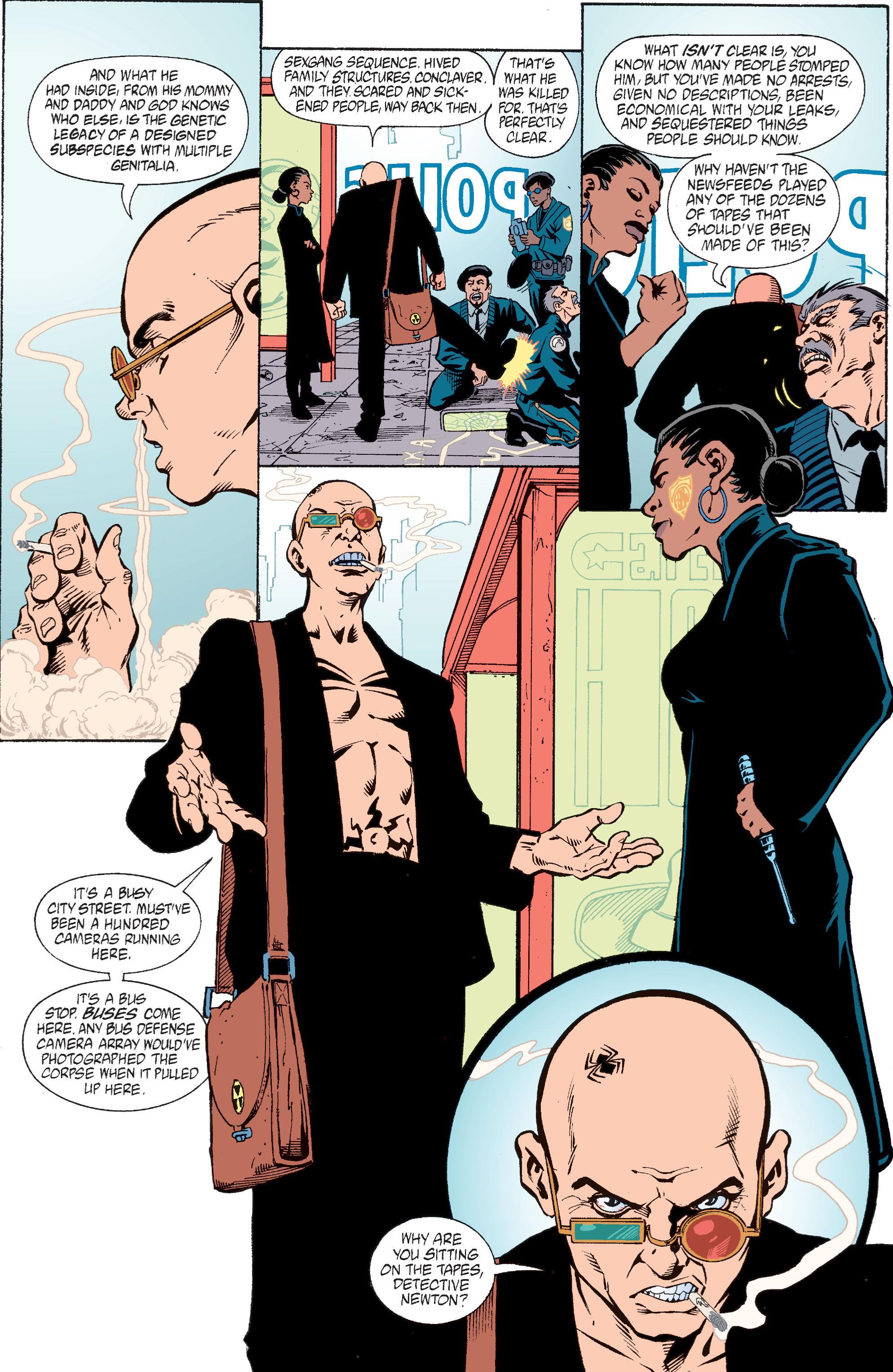 Read online Transmetropolitan comic -  Issue #28 - 18
