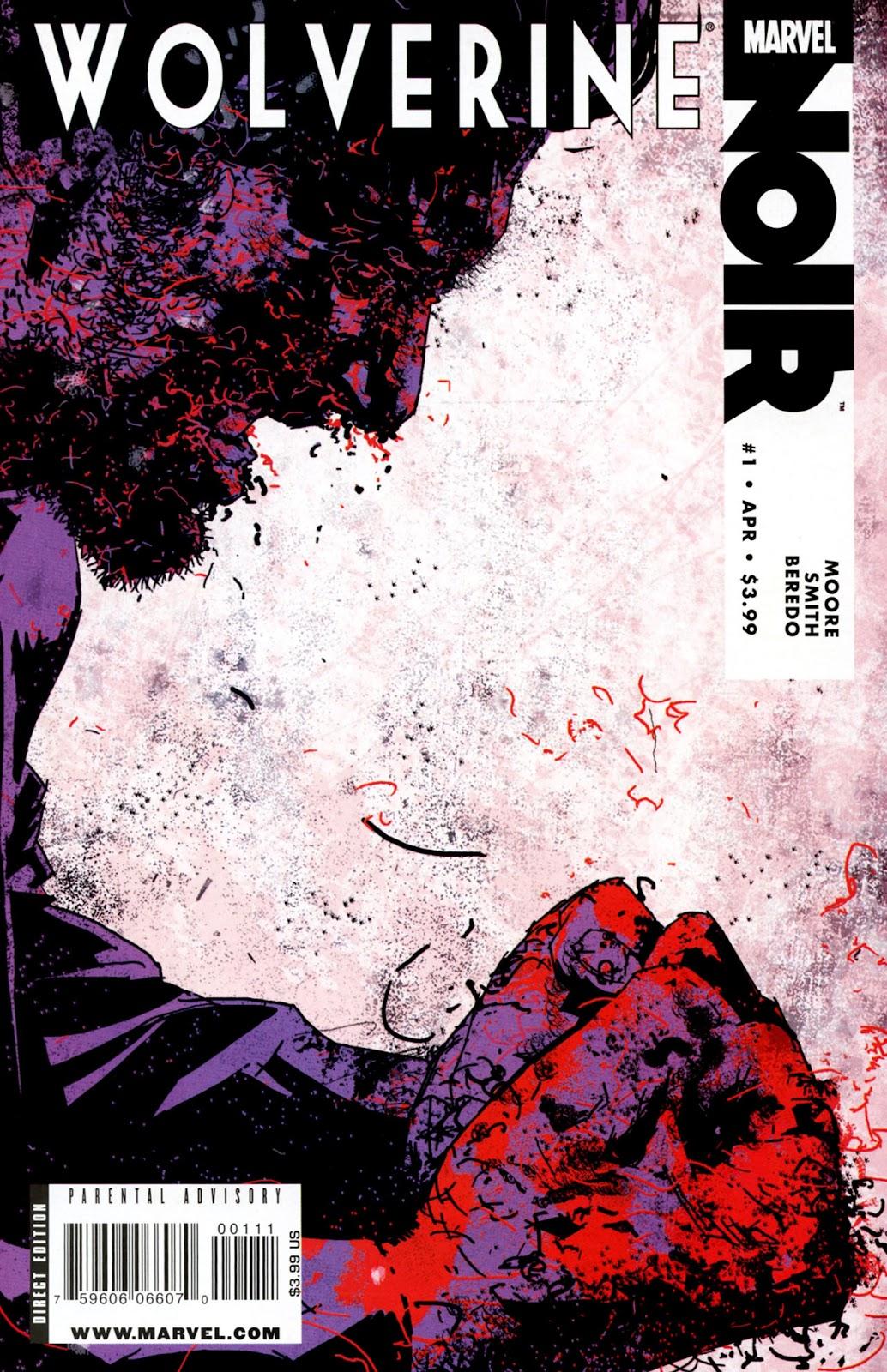 Wolverine Noir issue 1 - Page 1