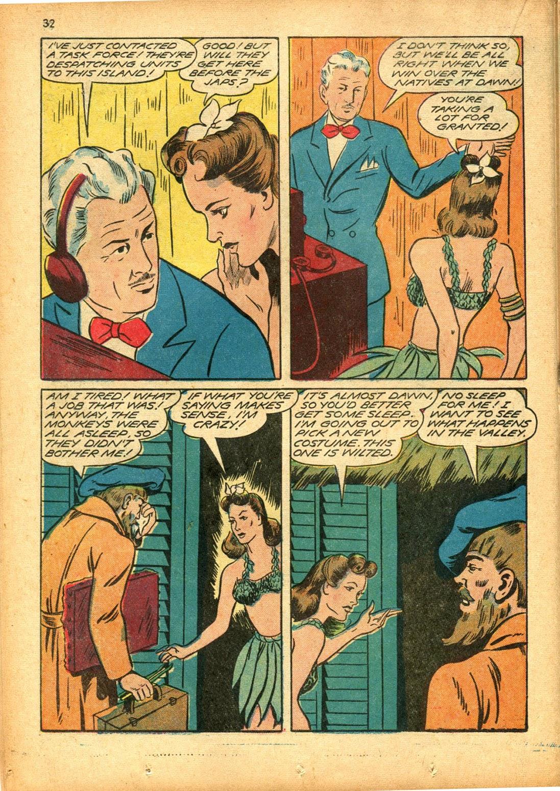 Read online Super-Magician Comics comic -  Issue #15 - 32