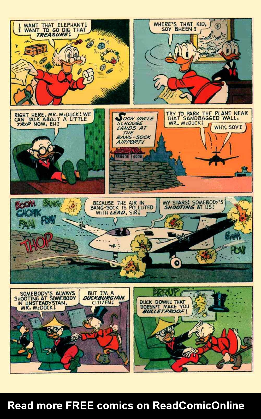 Read online Uncle Scrooge (1953) comic -  Issue #64 - 7