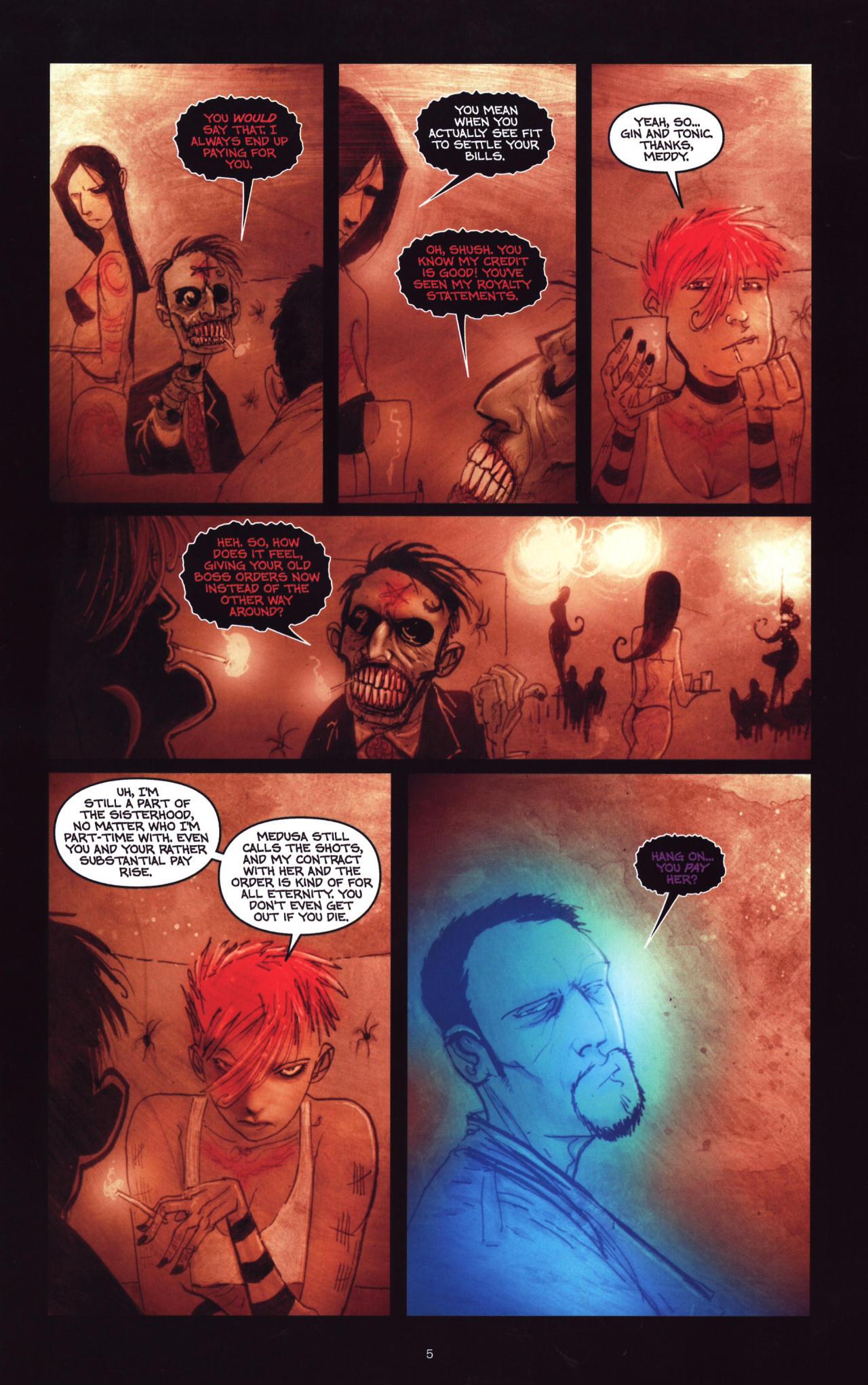 Read online Wormwood: Gentleman Corpse comic -  Issue #8 - 6