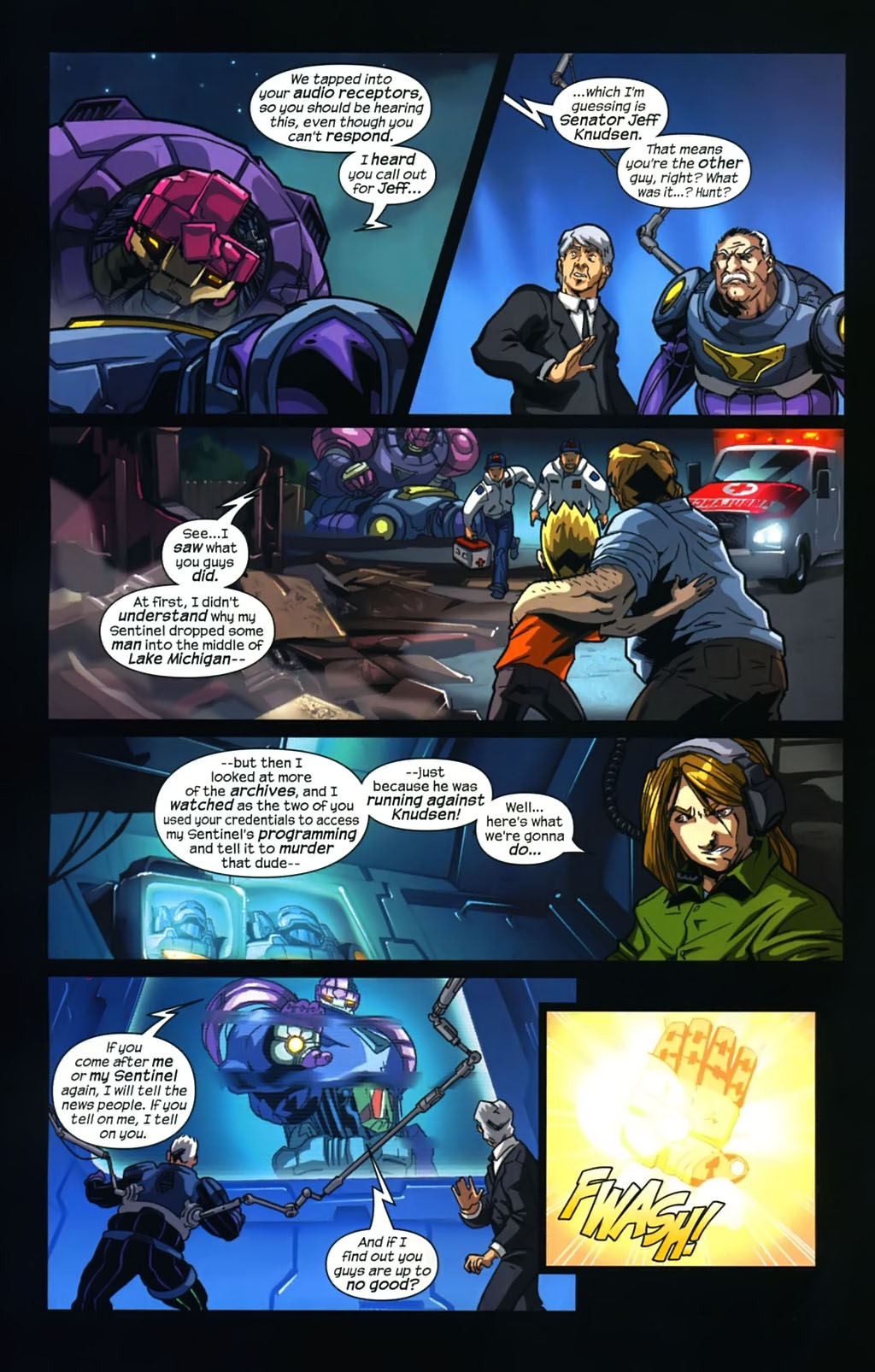 Read online Sentinel (2006) comic -  Issue #5 - 14