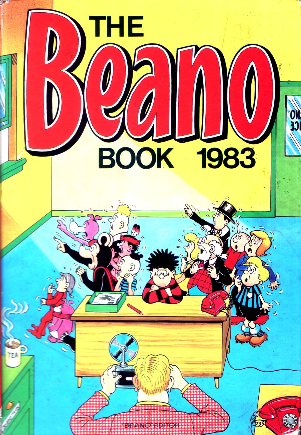 The Beano Book (Annual) 1983 Page 1