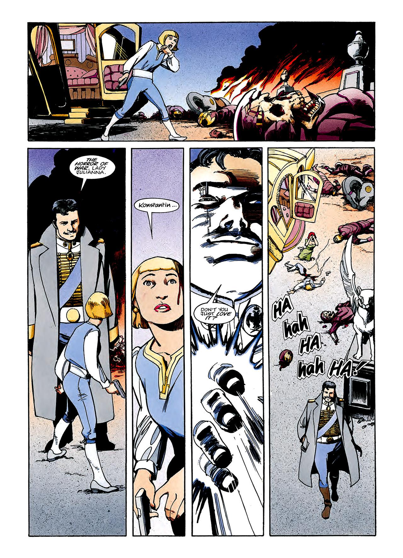 Read online Nikolai Dante comic -  Issue # TPB 3 - 114