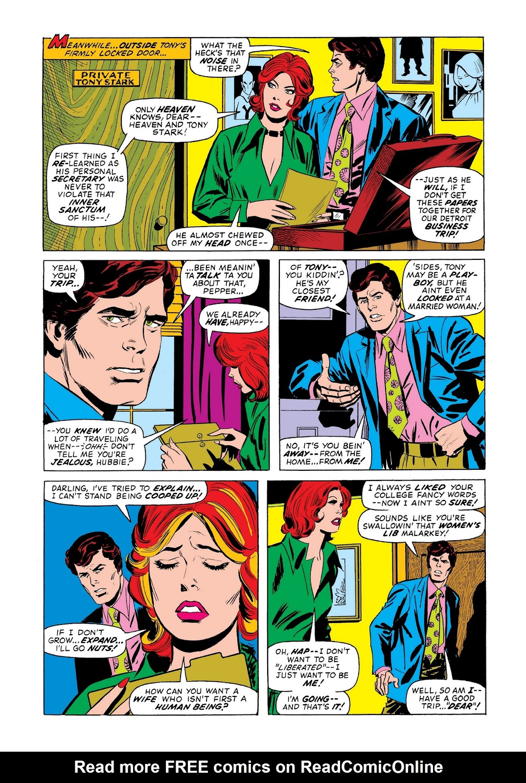Read online Marvel Masterworks: The Invincible Iron Man comic -  Issue # TPB 9 (Part 2) - 17