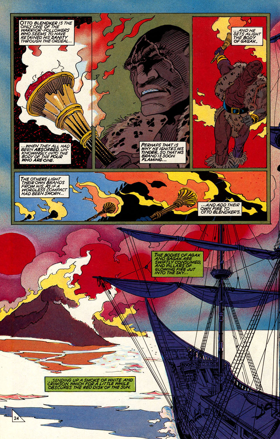 Read online Elric: Sailor on the Seas of Fate comic -  Issue #3 - 28