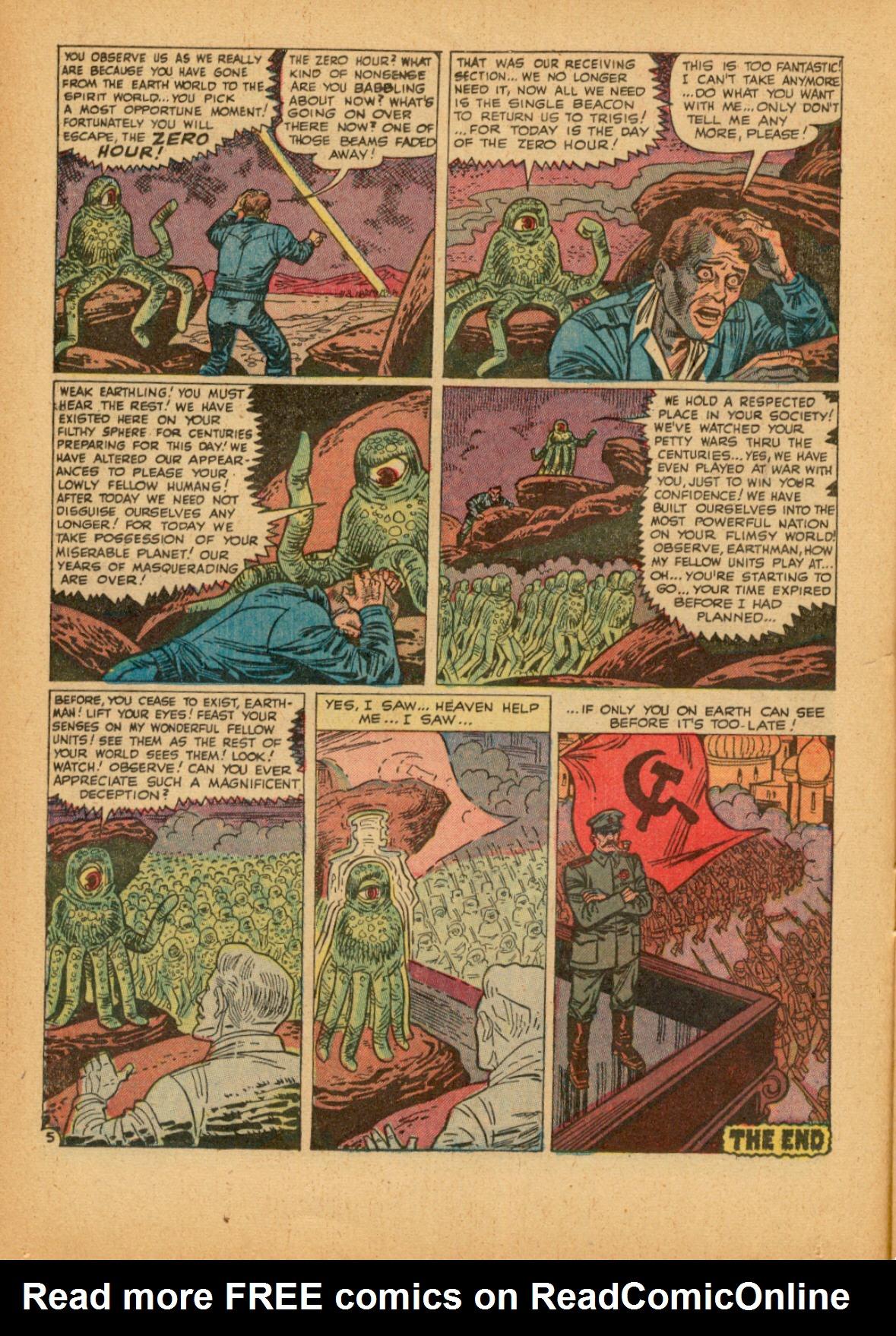 Read online Adventures into Weird Worlds comic -  Issue #3 - 14