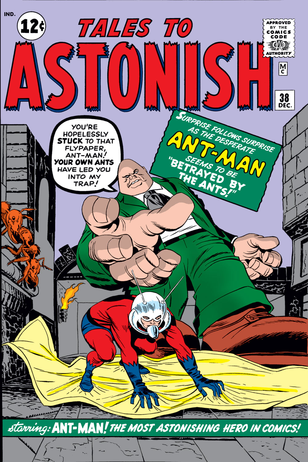 Tales to Astonish (1959) issue 38 - Page 1