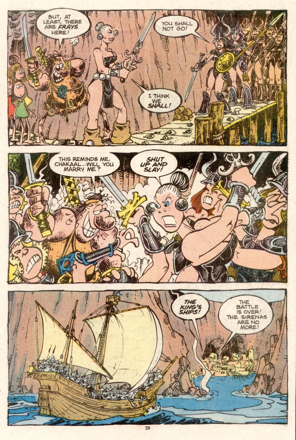 Read online Sergio Aragonés Groo the Wanderer comic -  Issue #50 - 40