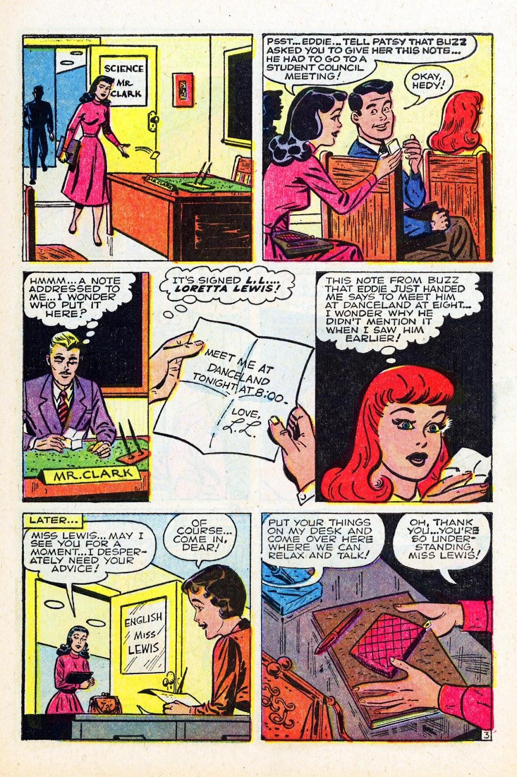 Read online Patsy Walker comic -  Issue #58 - 5