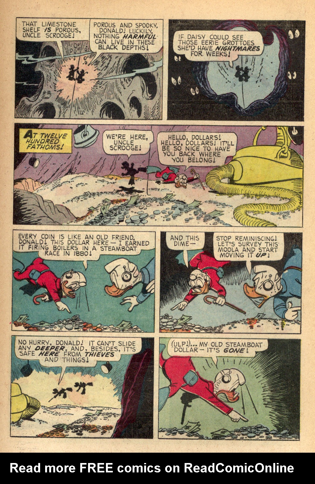 Read online Uncle Scrooge (1953) comic -  Issue #68 - 9