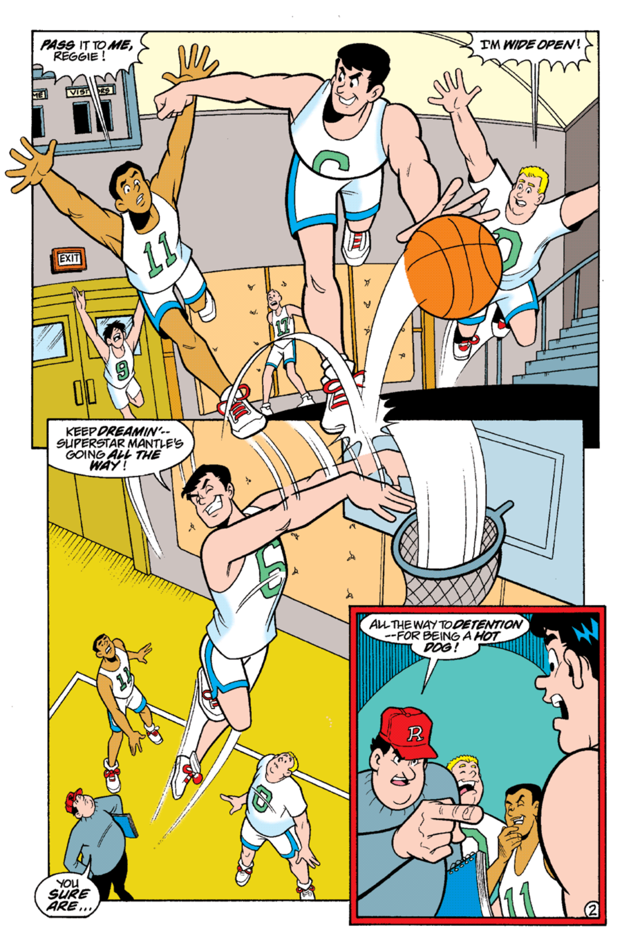 Read online Archie's Weird Mysteries comic -  Issue #16 - 4