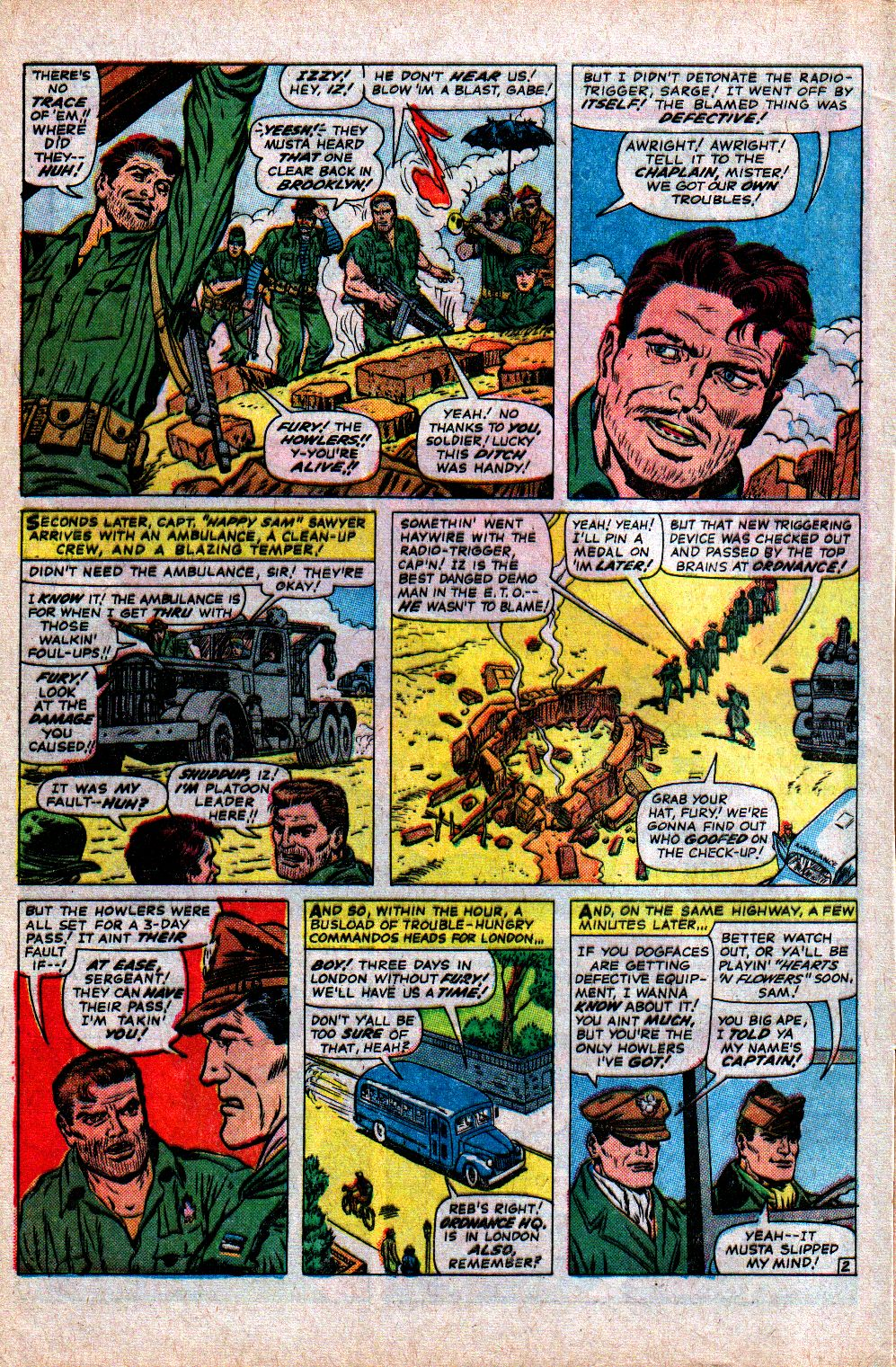 Read online Sgt. Fury comic -  Issue #21 - 4