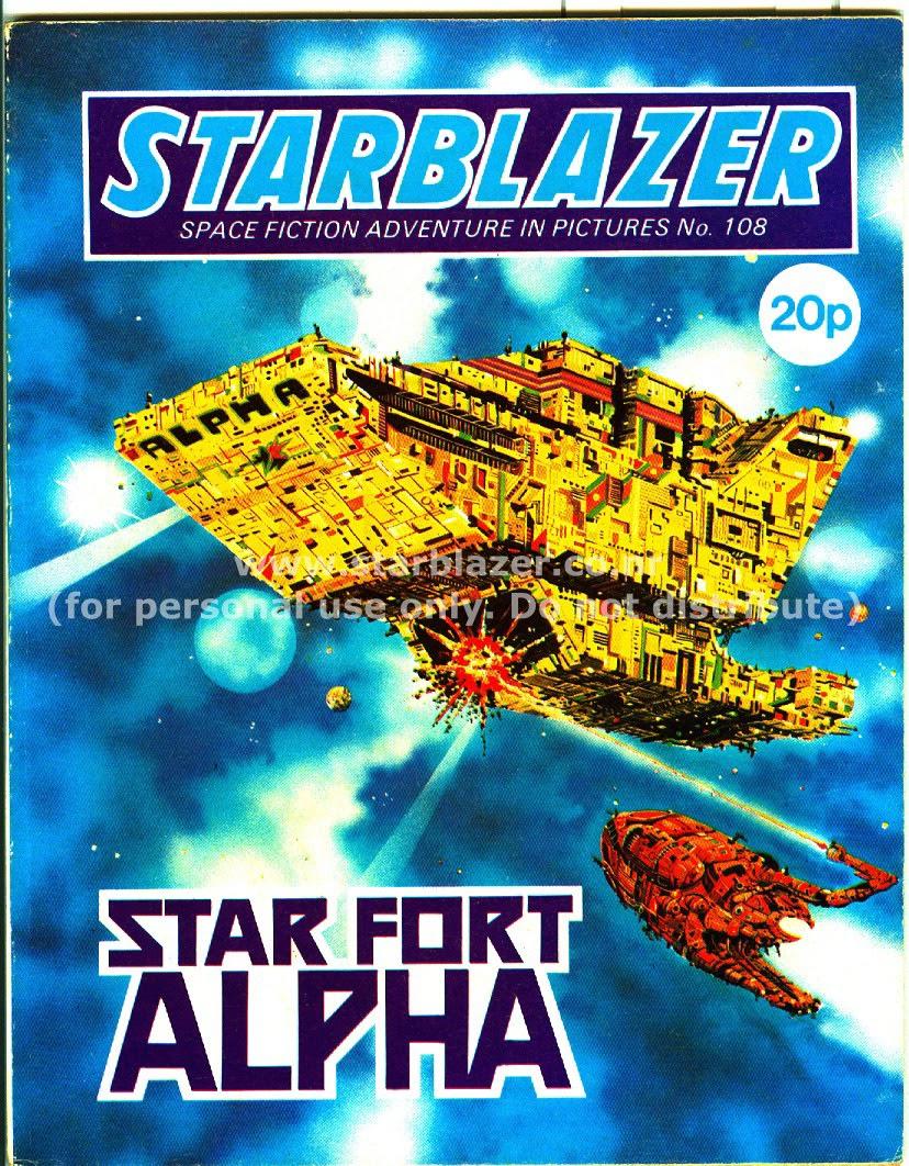 Starblazer issue 108 - Page 1