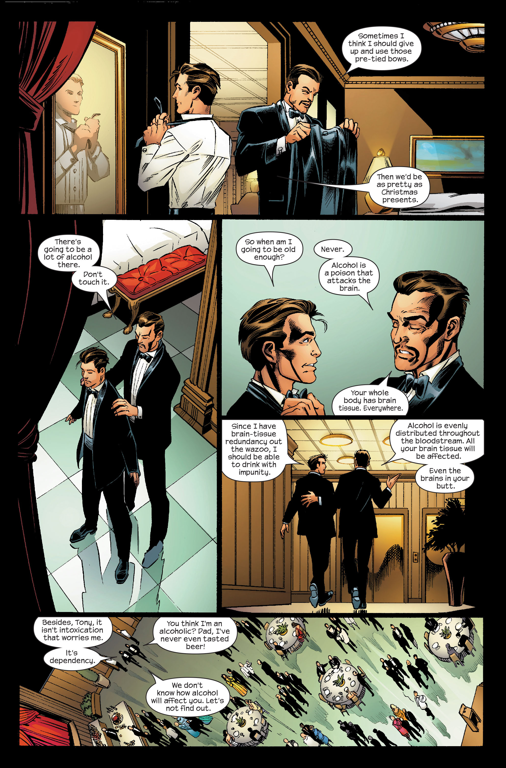 Read online Ultimate Iron Man (2005) comic -  Issue #5 - 10