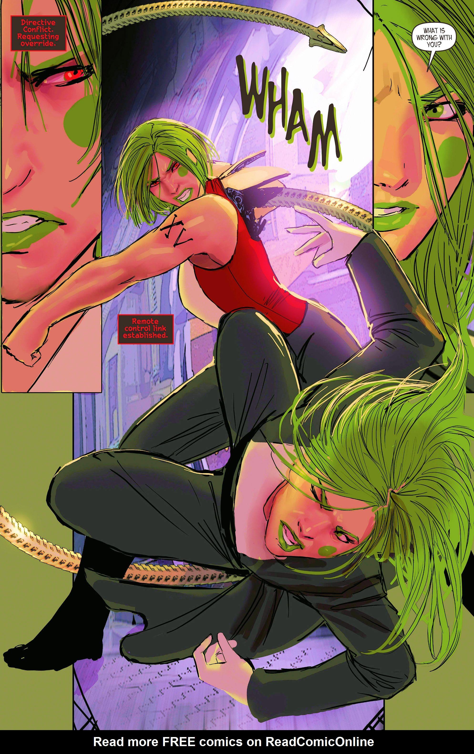Read online Aphrodite IX (2013) comic -  Issue #9 - 13