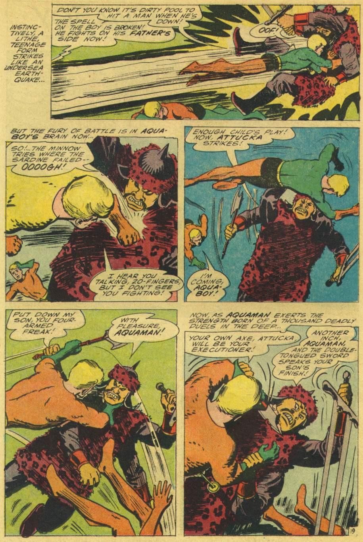 Read online Aquaman (1962) comic -  Issue #25 - 26