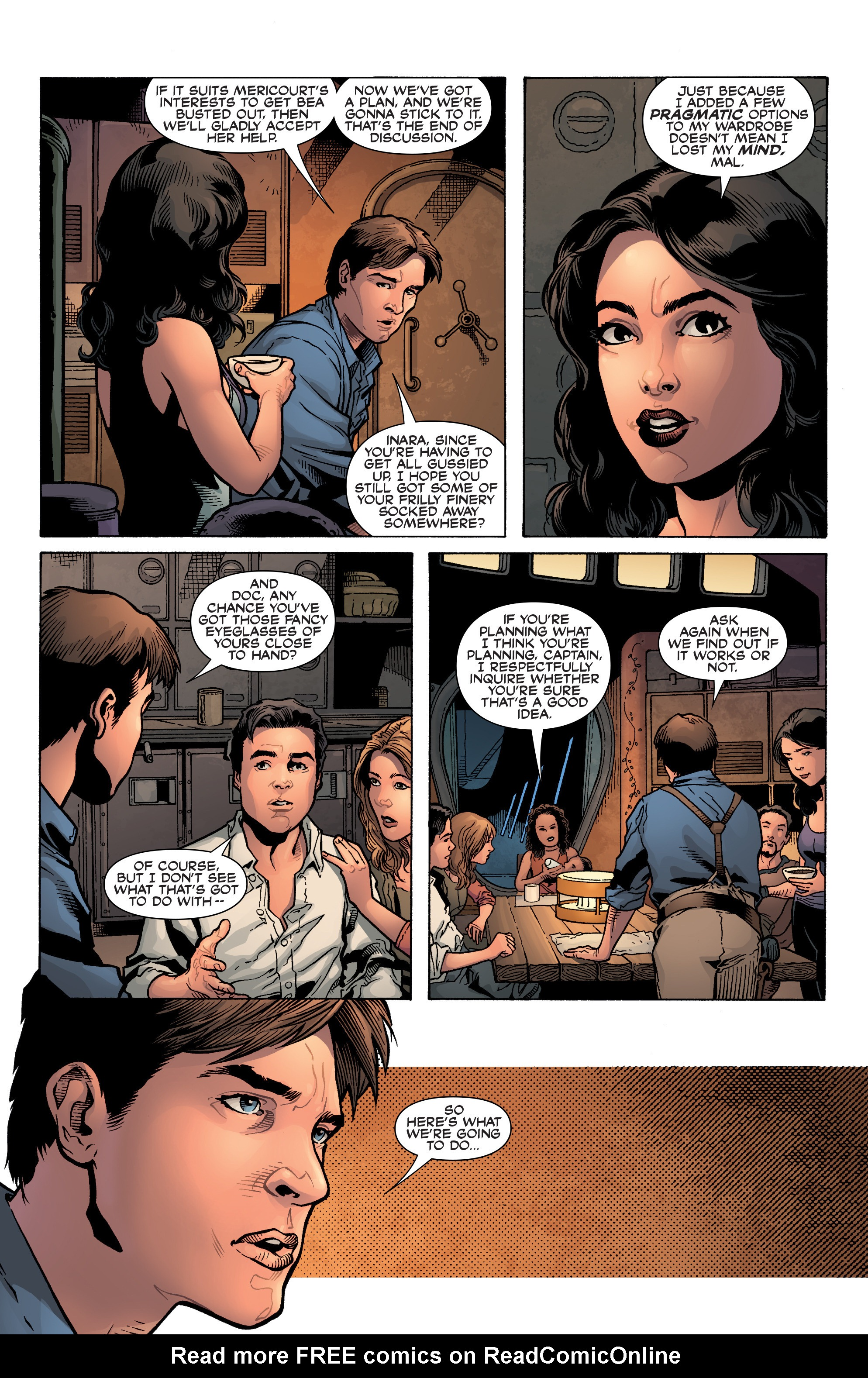 Read online Serenity: Firefly Class 03-K64 – No Power in the 'Verse comic -  Issue #3 - 12